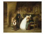 The First Communion, 1867 Giclee Print by Edouard Frere