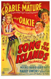 Song of the Islands, 1942 Print