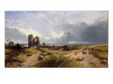 Orford Castle, Suffolk Giclee Print by Henry Bright