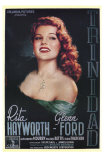 Affair in Trinidad, Italian Movie Poster, 1952 Poster