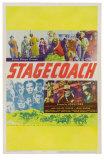 Stagecoach, 1939 Print
