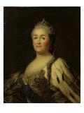 Empress Catherine II Alexeevna (1762-1796) Giclee Print by Vigilius Erichsen