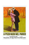 Barefoot in the Park, Italian Movie Poster, 1967 Posters