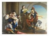 Hector's Farewell to Andromache at the Scoean Gate Art by Giambettino Cignaroli