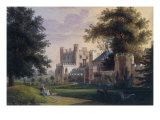 View of Cassiobury House, Hertfordshire Giclee Print by Henry Edridge