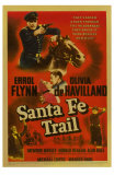 Santa Fe Trail, 1940 Posters