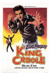 King Creole, French Movie Poster, 1958 Photo