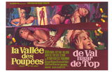 Valley of the Dolls, Belgian Movie Poster, 1967 Pósters