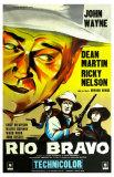 Rio Bravo, French Movie Poster, 1959 Posters