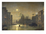 San Salute, Venise Giclee Print by Friedrich Nerly