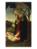 The Madonna Adoring the Christ Child Giclee Print by Sandro Botticelli