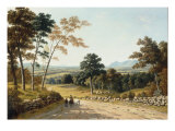 View of Ben Lomond, the Campsies and Dumgoyne Giclee Print by John Knox