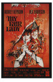 My Fair Lady, French Movie Poster, 1964 Poster