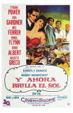 The Sun Also Rises, Argentine Movie Poster, 1957 Posters