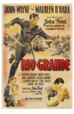Rio Grande, Argentine Movie Poster, 1950 Posters