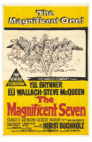 The Magnificent Seven, 1960 Poster