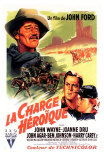 She Wore a Yellow Ribbon, French Movie Poster, 1949 Prints