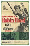 The Adventures of Robin Hood, Spanish Movie Poster, 1938 Posters