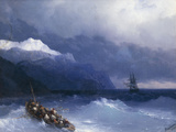 The Rescue Prints by Ivan Konstantinovich Aivazovsky