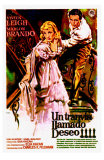 A Streetcar Named Desire, Spanish Movie Poster, 1951 Photo