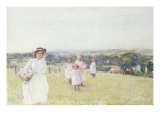 The Picnic Giclee Print by Henri Crockett