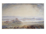 Nineveh, Moussal on the Tigris Giclee Print by J. M. W. Turner