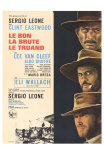 The Good, The Bad and The Ugly, French Movie Poster, 1966 - Afiş