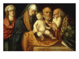 The Presentation in the Temple Giclee Print by Giovanni Bellini