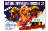 The Misfits, German Movie Poster, 1961 Poster