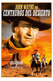 The Searchers, Spanish Movie Poster, 1956 Posters
