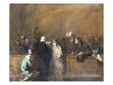 Scene de Tribunal Prints by Jean Louis Forain