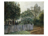La Maison dans les Arbres, 1880 Poster by Gustave Caillebotte
