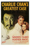 Charlie Chan's Greatest Case, 1933 Print