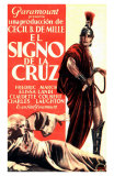 The Sign of the Cross, Spanish Movie Poster, 1932 Photo