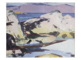 Low Tide Print by Francis Campbell Boileau Cadell