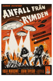 Earth vs. the Flying Saucers, Swedish Movie Poster, 1956 Posters