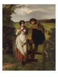 The Girl I left behind me, c.1880 Giclee Print by William Holyoake