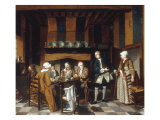 A Family at Tea, 1752 Giclee Print by Jan Josef Horemans