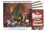 The Beast From 20,000 Fathoms, 1953 Poster