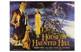 House On Haunted Hill, 1958 Poster