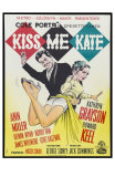 Kiss Me Kate, Danish Movie Poster, 1953 Prints