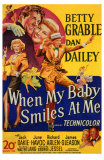 When My Baby Smiles at Me, 1948 Poster