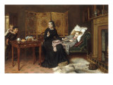 The Poorly Sister Prints by George Goodwin Kilburne
