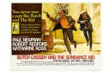 Butch Cassidy and the Sundance Kid, UK Movie Poster, 1969 Posters