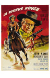 Red River, French Movie Poster, 1948 Posters