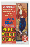 Rebel Without a Cause, Australian Movie Poster, 1955 Julisteet