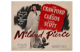 Mildred Pierce, UK Movie Poster, 1945 Photo