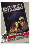 Bonnie and Clyde, German Movie Poster, 1967 Posters