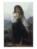 The Lute Player Giclee Print by Elizabeth Bouguereau