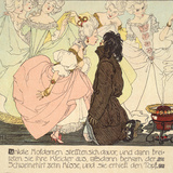 The Princess amnd the Swineherd, 1897 Prints by Heinrich Lefler